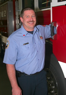 Fire Chief Rob Bullock Profile Photo